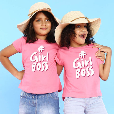 #Girl Boss, Matching Tees For Sisters