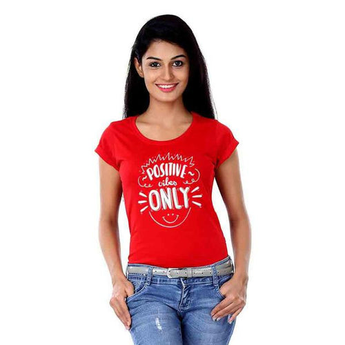 Positive Vibes Tees For Women