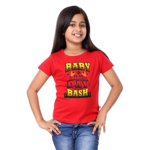 Baby ka hai B'day bash Family Tees