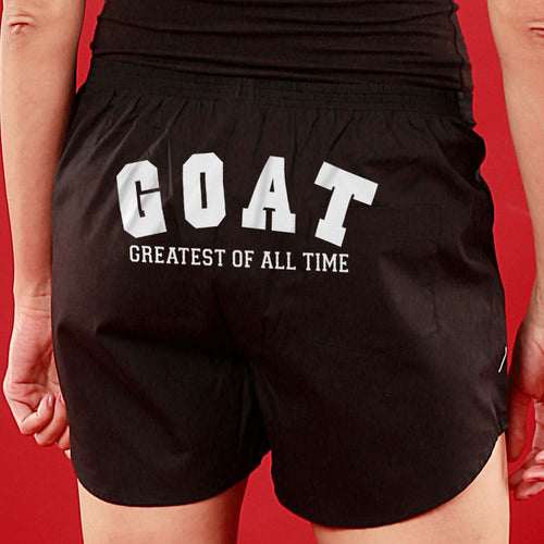 GOAT,  Matching Black Couple Boxers