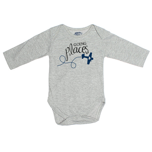 Going Places, Matching Travel Tees For Infant