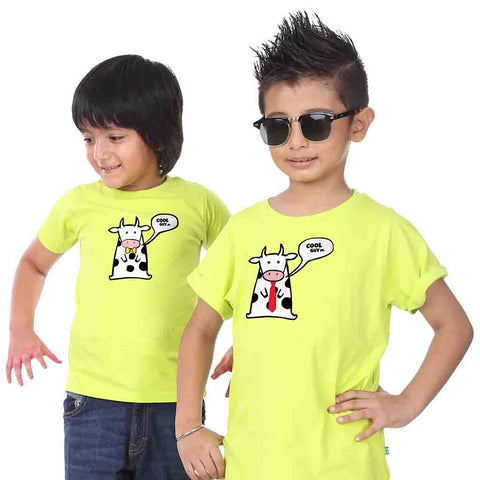Cool Guy Sr Cool Guy Jr Combo Tees