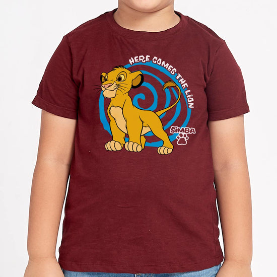 The Lion King: Simba, Disney Tees For Kids