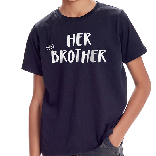 Her Brother-His Sister, Matching Tees For Brother And Sister
