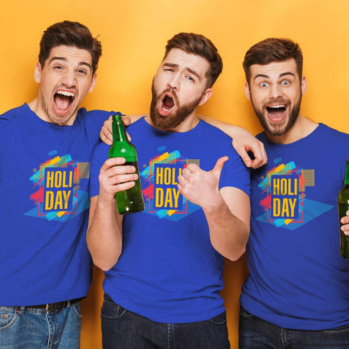 Holi Day , Matching Tees For Friends