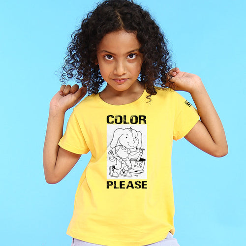 Color Please, Matching Bro & Sis Holi Tees