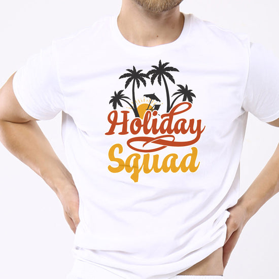 Holiday Squad Matching Family Tees