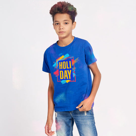 Holi Day Matching Tees For Family