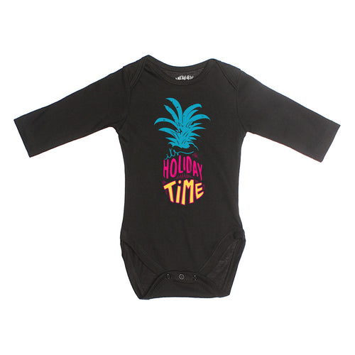 Holiday Time, Matching Travel Tees For Infant