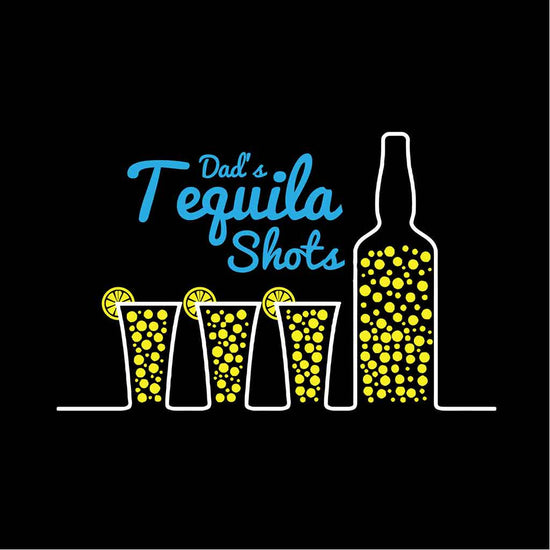 Black Tequila/Chocolate Shots Father-Son Tees