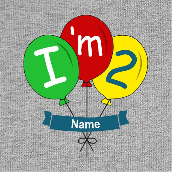 I'm Two Birthday Tee