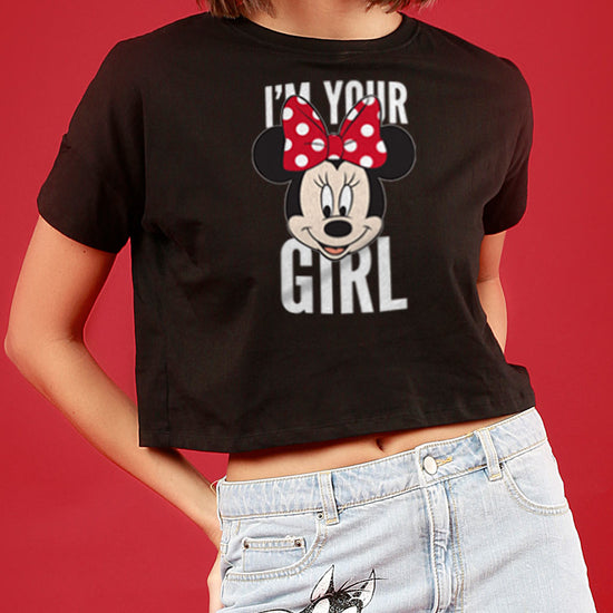I Am Your Guy/Girl, Matching Disney Couple Crop Top And Tee