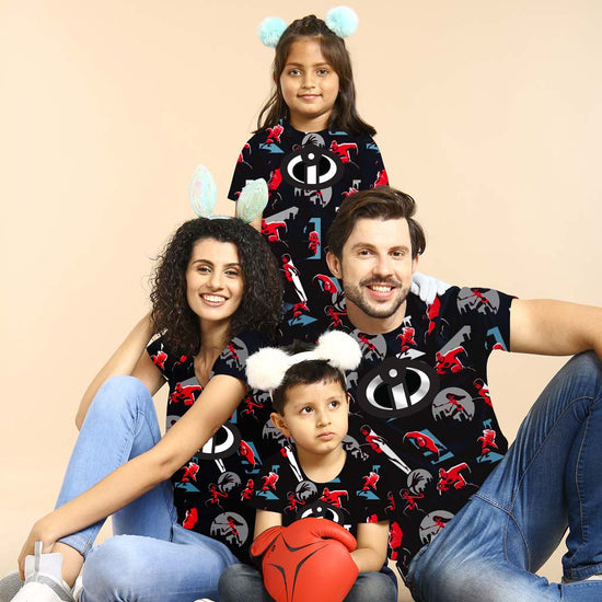 9d4a1fcc96 Incredibles Fun Print, Matching Family Tees ...
