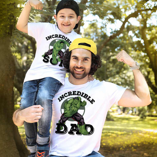 Incredible Dad/Son, Matching Tees