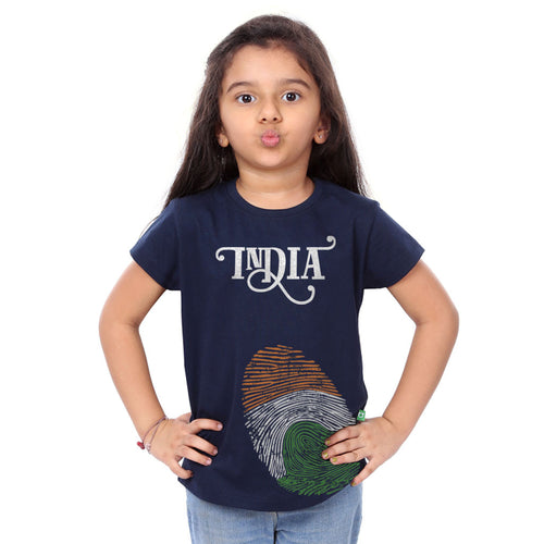 India Thumb Family Tees for daughter