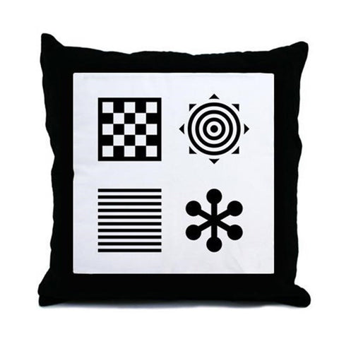Infant Stimulation Pattern Cushion