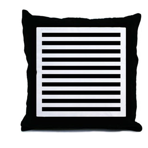 Infant Stimulation Striped Pillow