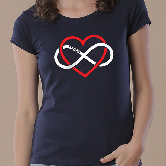 Love Infinity, Tees For Son, Daughter And Mom.