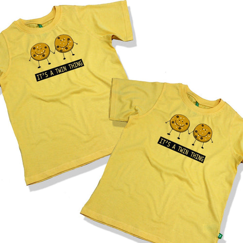 It's A Twin Thing Combo Tee For Twins