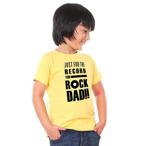 Just For The Record You Rock Tees