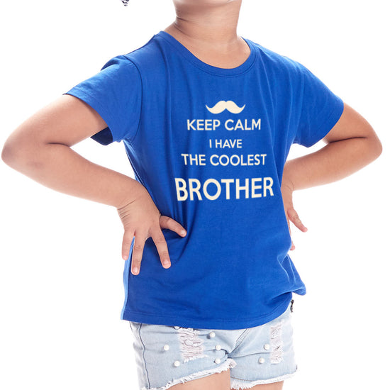 Keep Calm Brother/Sister, Matching Sibling Tees
