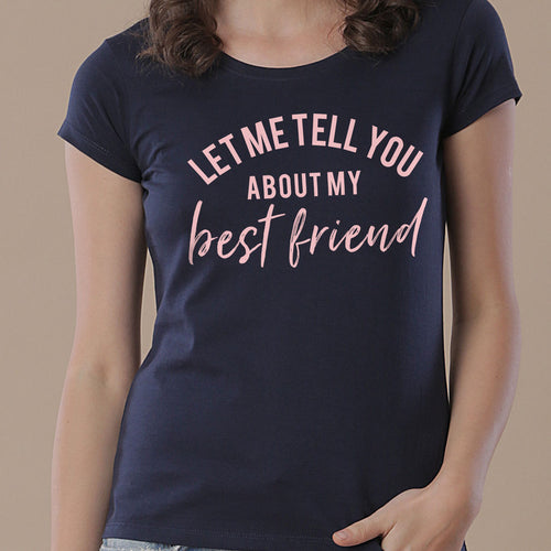 Best Friend, Matching Tees For Mom And Daughter