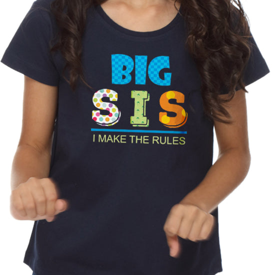 Big Sis - Lil Bro Tees for Siblings