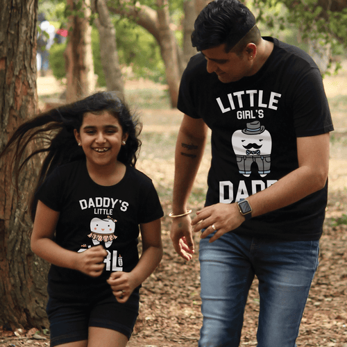 Daddy's Little girl/Little girl's daddy Tees