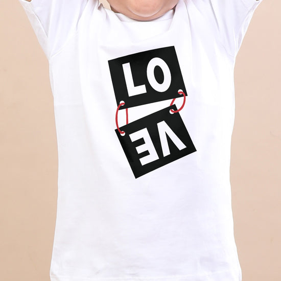 L.O.V.E,Matching Tees For Brother And Sister