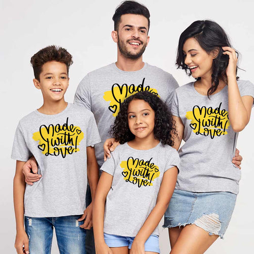 Made With Love Family Tees
