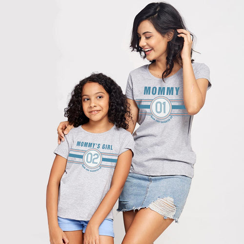 Mommy's Girl, Matching Tees For Mom And Daughter