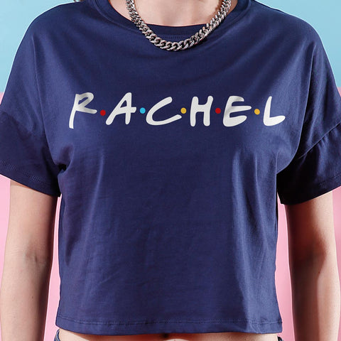 Rachel/Monica, Crop Tops For Bffs