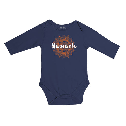 Namaste, Matching Travel Tees For Infant