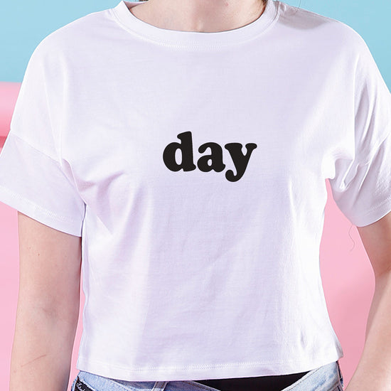 Day And Night, Crop Tops For Bffs