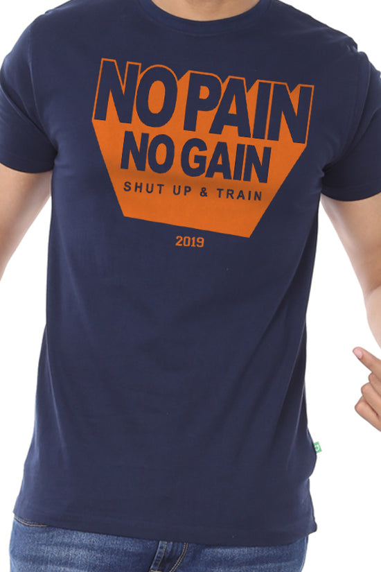 Train More! New Years Tee For Men