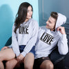 One Love, Matching For Men Hoodie And Crop Hoodie For Women