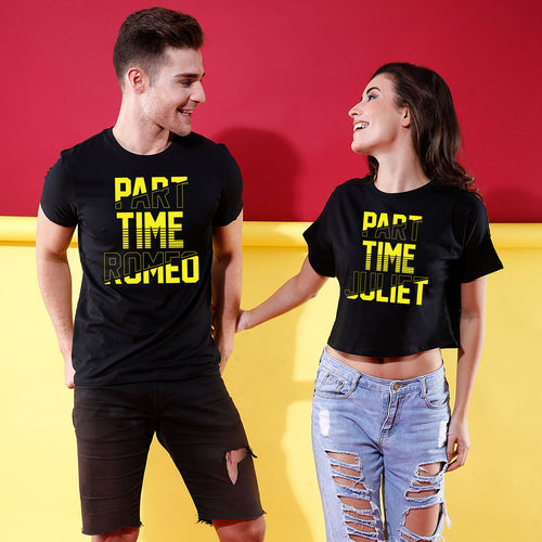 Part Time Romeo/Juliet, Couple Couple Crop Top & Tees