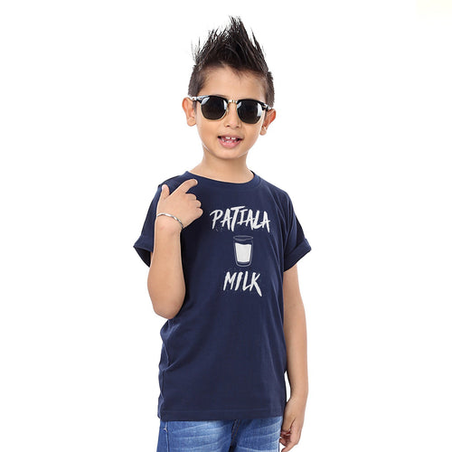 Navy Pataila Peg Father & Son Tshirt