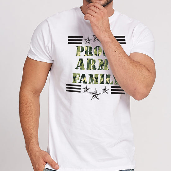 Proud Army Family, Matching Family Tees