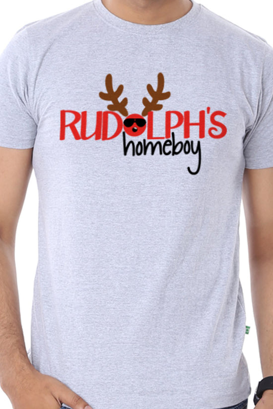Rudolfs Home Boy, Single Tee For Men