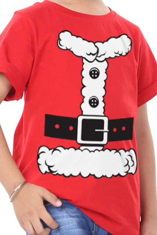 Santa Graphic, Brother And Brother Tees