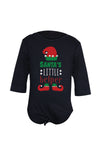 Santa's Little Helper Baby Bodysuit