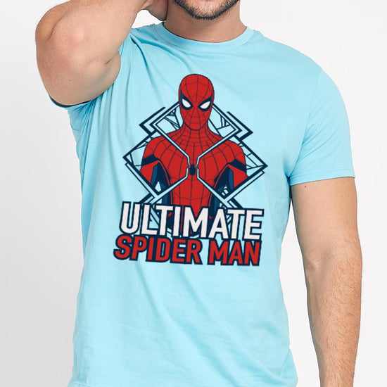 Ultimate Spiderman, Matching Tees For Dad And Son