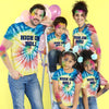 High On Holi Tie & Dye, Matching Tees For The Family