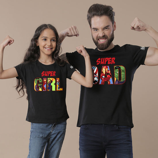 7e773737 Dad & Daughter Matching T-Shirts | Unique Father & Daughter T-Shirts