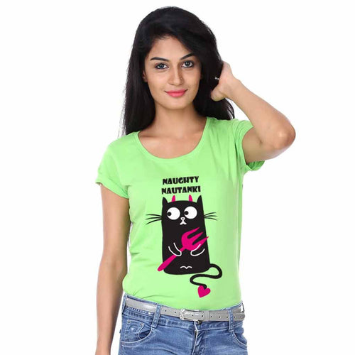 T-Shirt - Good Gudia/Naughty Nautanki Tees