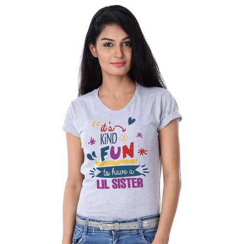 It's Kind fun to have lil/big sister Tees