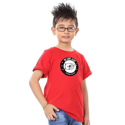 T-Shirt - My Look Alike Red Tees