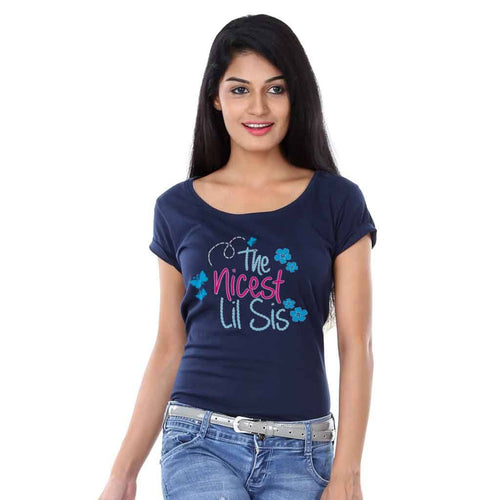 T-Shirt - The Nicest Lil Sis/ The Wisest Big Sis Tees