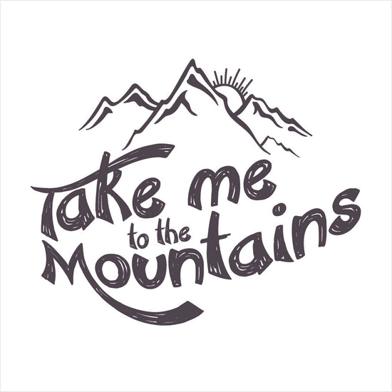 Take Me To The Mountain Family Tees